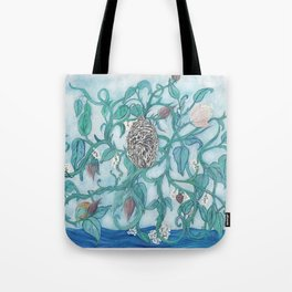 The first garden Tote Bag