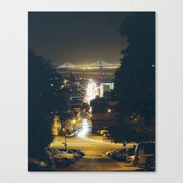 Framed. Canvas Print