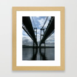 Narrows Bridges Framed Art Print