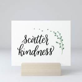 Scatter Kindness Mini Art Print