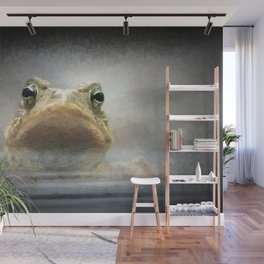 Frog from Front Painting Style Wall Mural