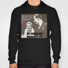 Let's marry the internet! Hoody