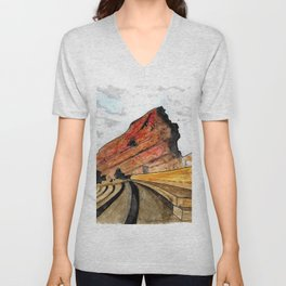 Red Rocks 2016 Unisex V-Neck