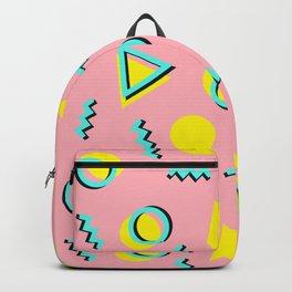 Memphis pattern 60 Backpack