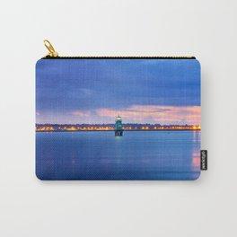 Blue hour. Dublin port Carry-All Pouch