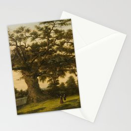 The Charter Oak - Connecticut by Charles De Wolf Brownell Stationery Cards