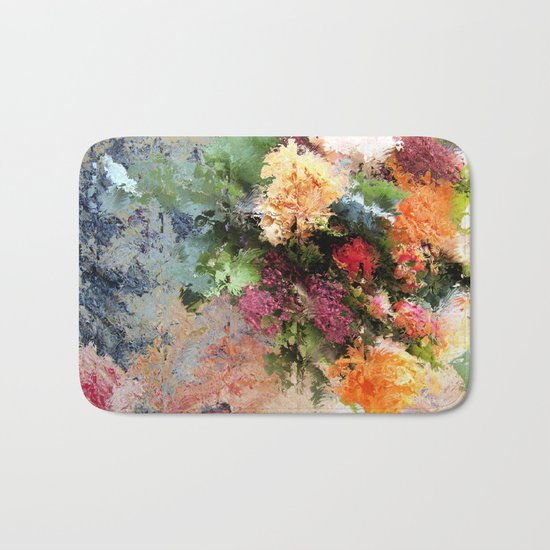 Four Seasons in One Day Bath Mat