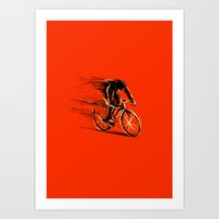 BikeCycling Art Print