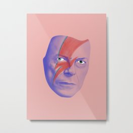 Bowie forever Metal Print