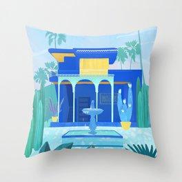 Morocco, Marrakech Throw Pillow
