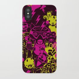 Dream Factory Pink and Yellow iPhone Case