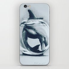 Captivity Is Cruel-Spreading Awareness Through Art iPhone & iPod Skin