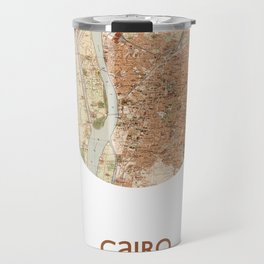 CAIRO EGYPT - city poster - city map poster print   Travel Mug