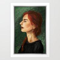 Cold Flame Art Print