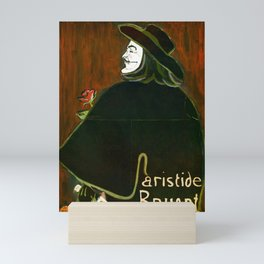 B. for Bruant: Vendetta by Lautrec Mini Art Print