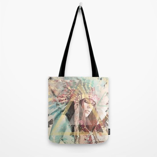 IND Girl Tote Bag