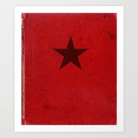 Winter Soldier Red Book (Civil War) Art Print