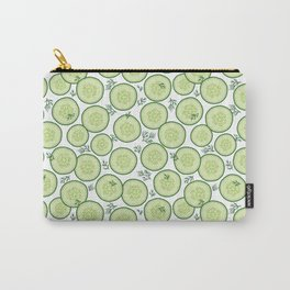 Cucumber Salad Pattern Carry-All Pouch