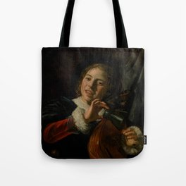 """Frans Hals """"Boy with a Lute"""" Tote Bag"""