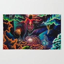 Shiva the cosmic destroyer Rug
