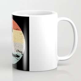 Standup Paddle Board Retro Vintage Gift Coffee Mug