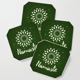 Namaste Mandala Flower Power Coaster