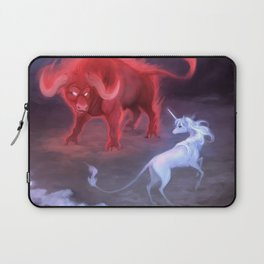 Unicorn and Bull Laptop Sleeve