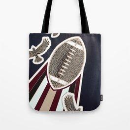 American football, gridiron ball Tote Bag