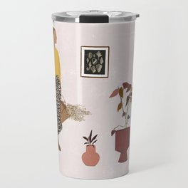 Hanging Out With Plants Travel Mug
