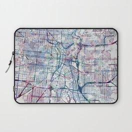 San Antonio map Laptop Sleeve