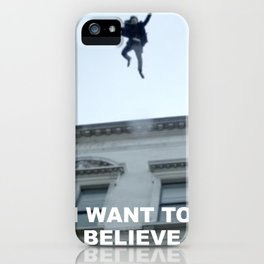 I Want to Believe in Sherlock Holmes iPhone Case