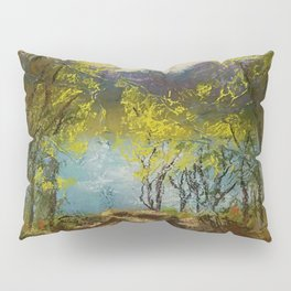 Chickies Rock Overlook Soft Pastel Painting Pillow Sham