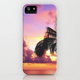 Saltwater Sunsets iPhone Case
