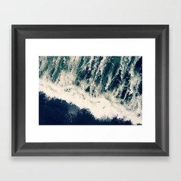 The Ocean Roars Framed Art Print