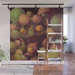 Crazy About Gumballs Wall Mural