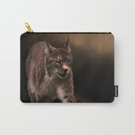 Into The Light - Lynx Art Carry-All Pouch