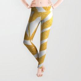 Golden leaf X Leggings
