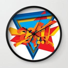 Shaa!!! Wall Clock
