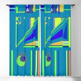 Incomprehensible No. 2, Blue Blackout Curtain