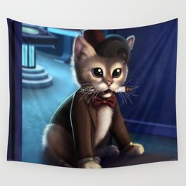 Doctor Who Cat Wall Tapestry