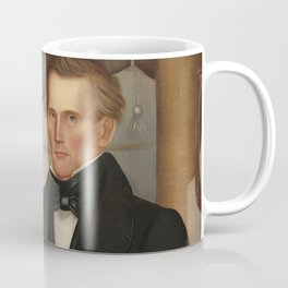 Vermont Lawyer Oil Painting by Horace Bundy Coffee Mug