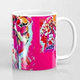 No 5 Pink Colored Coffee Mug