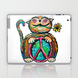 Peace Chubbycat Laptop & iPad Skin