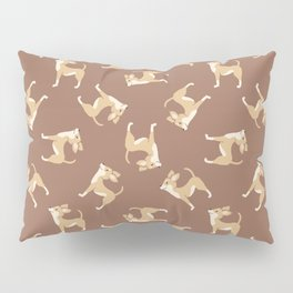 Chihuahua Chocolate Pattern Pillow Sham