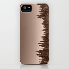 Pine Trees Reflected in an Alpine Lake iPhone Case