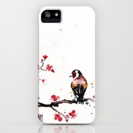 """The tiny wings """"The goldfinch"""" iPhone Case"""