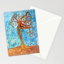 Fiery Tree Goddess Stationery Cards