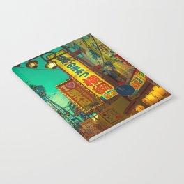 Osaka Nights - Shinsekai, New World / Liam Wong Notebook