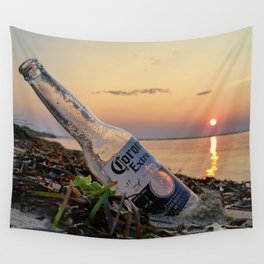 summer sunset Wall Tapestry