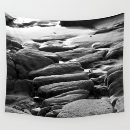 Rocks and Pools Wall Tapestry
